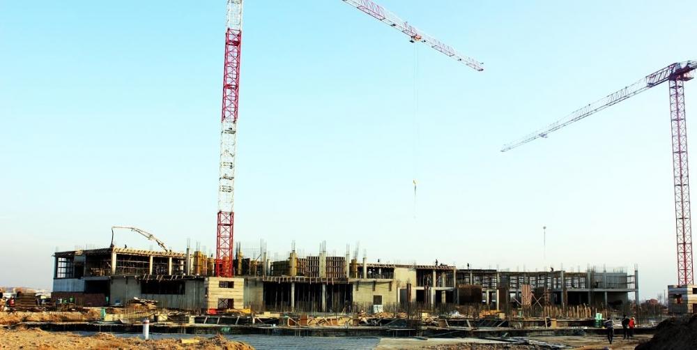 Yeni Hastane İnşaatı hızla devam ediyor galerisi resim 1