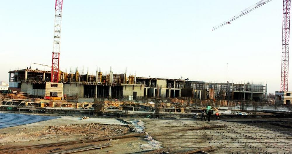 Yeni Hastane İnşaatı hızla devam ediyor galerisi resim 2