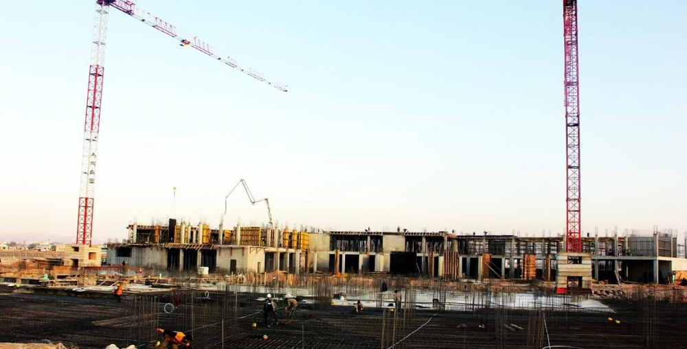 Yeni Hastane İnşaatı hızla devam ediyor galerisi resim 3