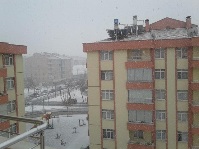 Konya'da Kar Manzaraları galerisi resim 1