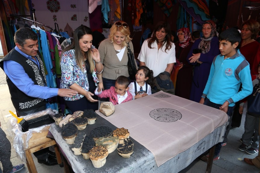 Geleneksel Türk El Sanatları Aksaray da büyük ilgi görüyor galerisi resim 5