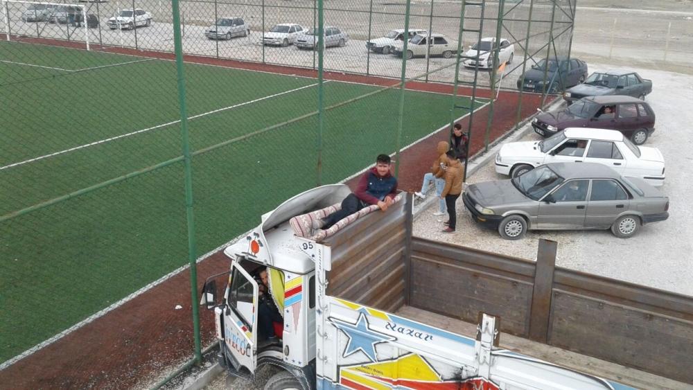 Cghilal Yazır spor maçından görüntüler galerisi resim 26