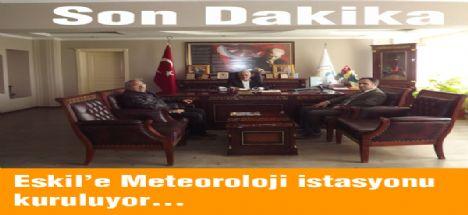 Eskil'e Otomatik Meteoroloji Gözlem İstasyonu kuruluyor