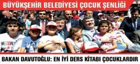 Konya Büyükşehir Belediyesi Çocuk Şenliği Yapıldı