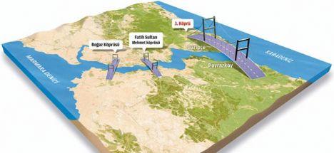 3. köprüde görülmemiş teknoloji