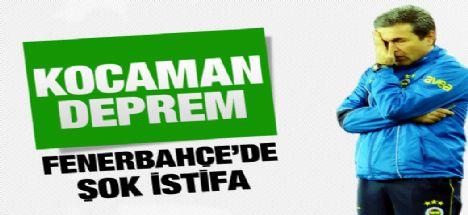 Aykut Kocaman görevinden istifa etti