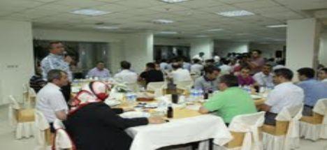 Karatay Belediyesi düzenlediği iftar programlarıyla personeli ile buluştu