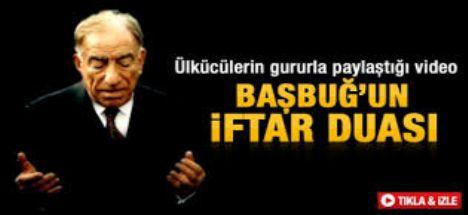Alparslan Türkeş'in İftar Duası Video