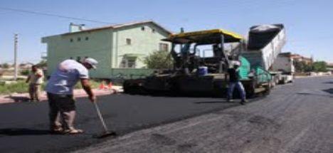 Karatay Belediyesi Yolları Bayrama Hazırlıyor