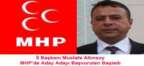 MHP'de Aday Adayı Başvuruları Başladı