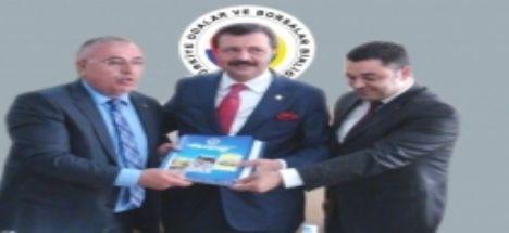 Aksaray'ın Su Sorunu Dosyası Hisarcıklıoğlu'nda