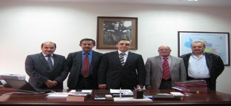 Ortaköy YDÇKD  başkan ve Yönetimi Aksaray Vali Yardımcısı Kubilay ANT ziyaret etti