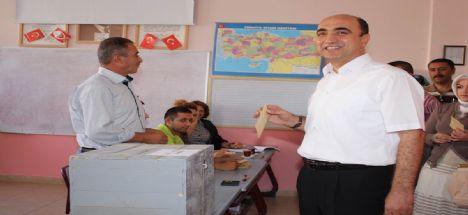 Başkan Nevzat Palta ustalık dönemi için yeniden adaylığını açıklıyor