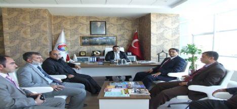 Ak Parti Aksaray Belediye Başkan Aday Adayı Nurettin Aktan Atso Başkanı Ahmet Koçaş'ı Ziyaret Etti