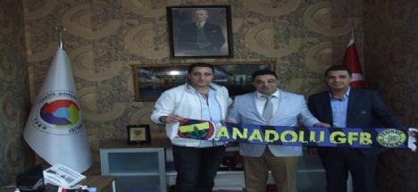 Genç Fenerbahçelilerden Atso Başkanı Koçaş'a Hayırlı Olsun Ziyareti