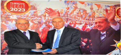 Ortaköy'de Eski Milletvekili Ak Parti'den aday adaylığını açıkladı