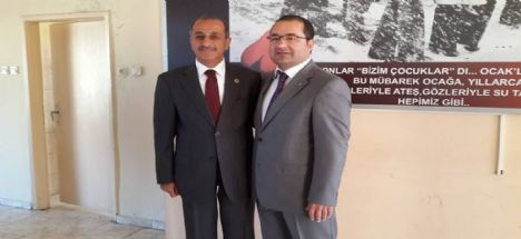MHP Eşmekaya'da Gazi Eşmekaya'yı tekrar Aday gösterdi