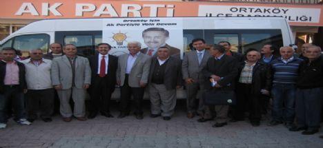 Ortaköy'de Cemalettin Öztürk Projelerini Açıkladı