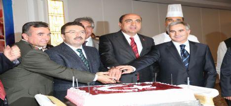 Aksaray'da Düzenlenen Cumhuriyet Resepsiyonu Büyük İlgi Gördü