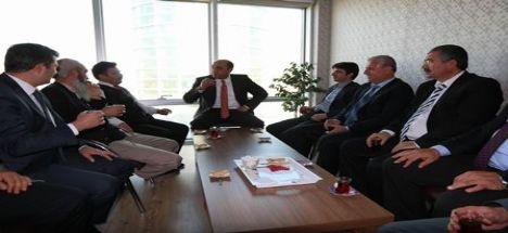 Başkan Nevzat Palta Efor Avm'de Esnaflarla Biraraya Geldi