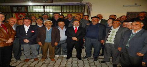 MHP Aksaray Belediye Başkan Adayı Op. Dr. Rıfkı Karabatak Alaca Mahallesini Ziyaret Etti