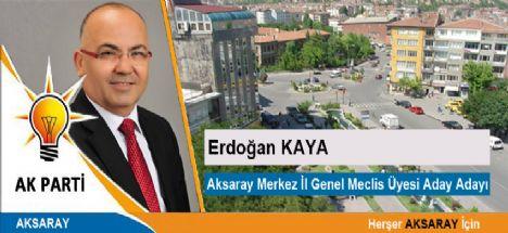 Gazeteci Yazar Erdoğan Kaya Ak Parti'den  İl genel Meclis üyesi adayı oldu