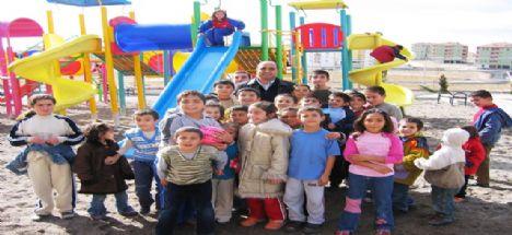 Aksaray Belediyesi 144 Adet Park Yaptı