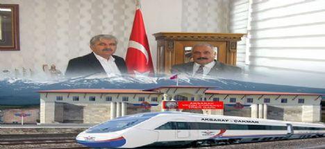 Aksaray-Ulukışla tren hattının temeli Mahalli seçimlerden önce atılmalı