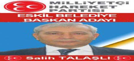 MHP Eskil Belediye Başkan adayı belli oldu