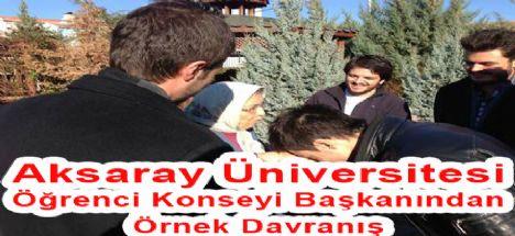 Aksaray Üniversitesi Öğrenci Konseyi Başkanlığı  Huzurevi Ziyaretinde Bulundu...