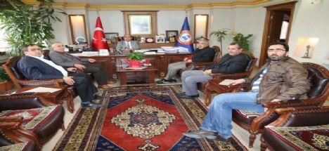 Sivil Toplum Kuruluşu Yöneticilerinden Başkan Nevzat Palta'ya Nezaket Ziyareti