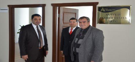 Ahika Aksaray Yatırım Destek Ofisi, Atso Binası'na Taşındı