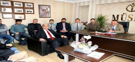 Başkan Nevzat Palta Müstakil İşadamları ve Sanayiciler Derneği 'Müsiad'ı Ziyaret Etti