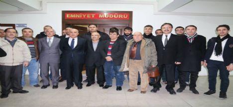 Emniyet Müdürü Aslan gazetecilerle bir araya geldi