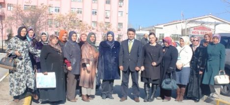 AK Parti Kadın Kollarından ADH Ziyaret