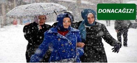 Kar Ve Soğuk Konya'yı Terk Etmiyor