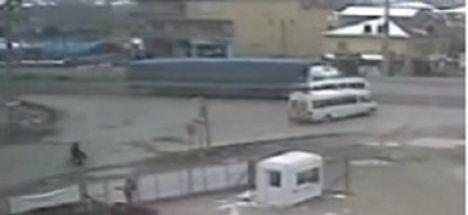 Konya ereğli'deki kaza kameraya böyle yansıdı