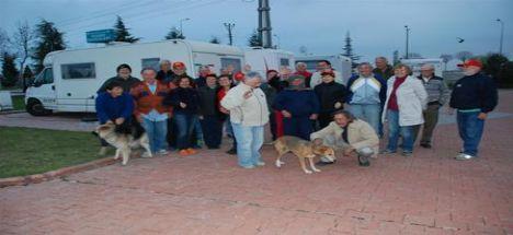 Karatay Belediyesi Karavan Parkı'na İtalya'dan Misafirler Var