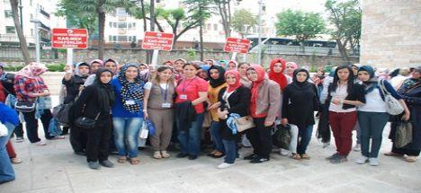 Karmek Kursiyerleri İstanbul ve Bursa Gezisinde
