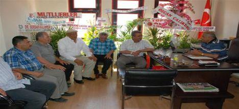 Başkan Hançerli Konya Muhtarlar Derneği ziyaret etti.