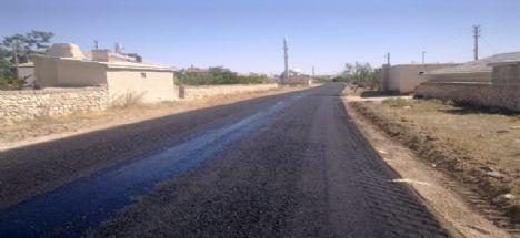 Bozcamahmut & Küçük Bozcamahmut arası asfaltlandı.