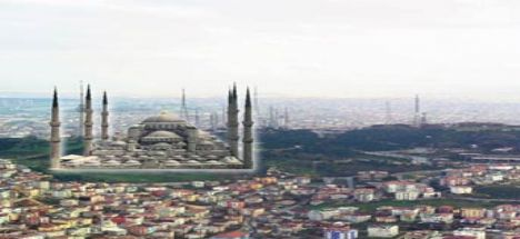 Çamlıca Tepesi'ne en az 6 minareli cami!