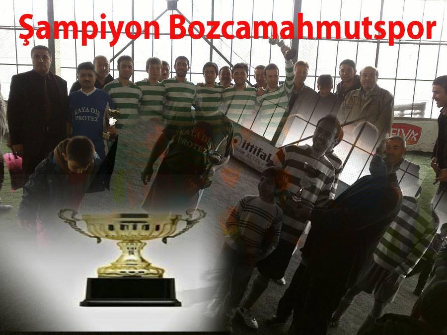 Bozcamahmut ile karşıkaya 1-1 berabera kaldı
