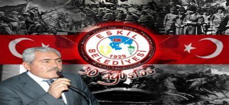 Başkan Alçay'dan 30 Ağustos Zafer Bayramı Mesajı