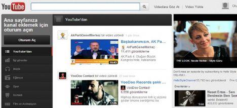 Youtube artık Türkçe hizmet verecek