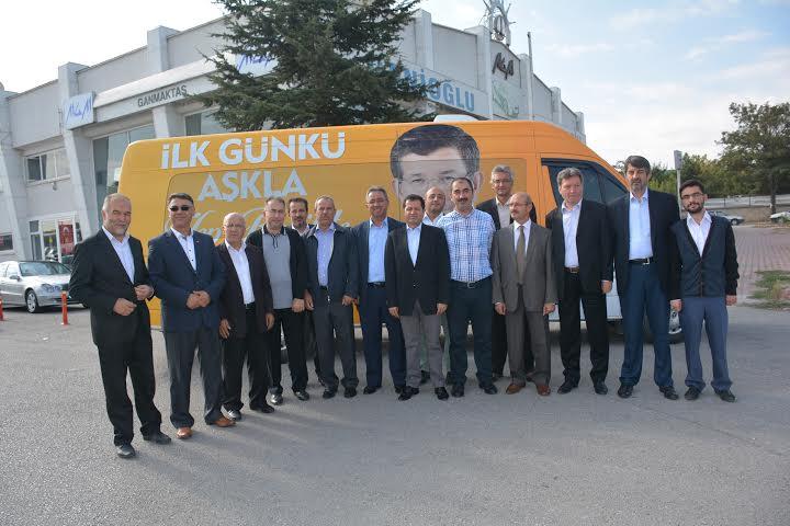 AK Parti Karatay'dan Esnaf Ziyareti