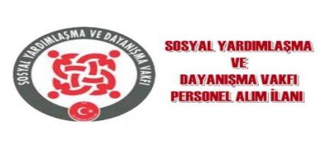 Eskil  SYDV Personel Alım İlanı