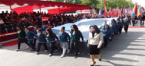 Konya'da Cumhuriyet coşkusu