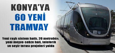 60 yeni tramvay için imzalar atılacak