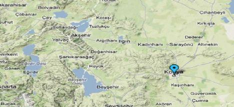 Konya'nın ilçeleri 2 gündür sallanıyor!
